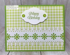 Granny Apple Green with Delightfully Detailed Papers
