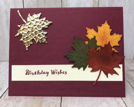 Seasonal Layers and Colorful Season from Stampin' Up! Details on my blog here: https://wp.me/p59VWq-aqv #Fall #stampinup #birthday #thestampcamp
