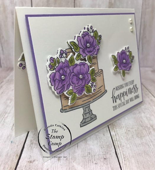 Happy Birthday To You with coordinating Birthday Dies create quick and easy gorgeous cards every time! Details are on my blog here: https://wp.me/p59VWq-aNk #stampinup #thestampcamp #birthday #saleabration