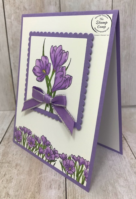This is a stepped up version of my Simple Stamping with the Easter Promise stamp set from Stampin' Up! Details are on my blog here: https://wp.me/p59VWq-aRH . #stampinup #easterpromise #thestampcamp