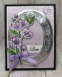 Mirror Framed Forever Blossoms Bundle