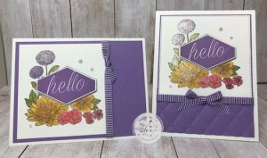 Painting with Shimmer Paint and Accented Blooms