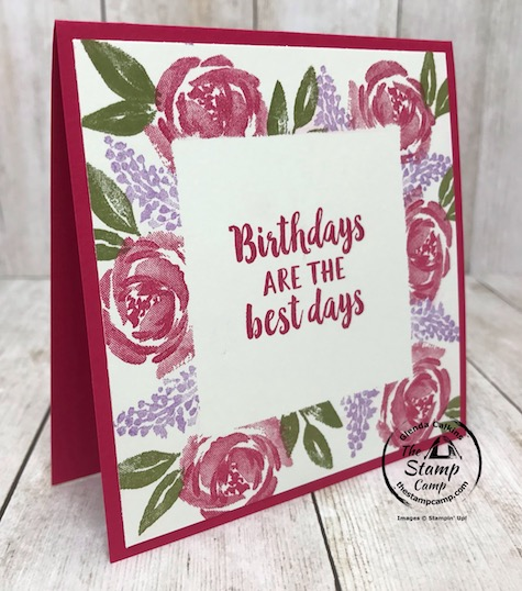 Have you ever tried the Simple Stamping with Masking technique? This beautiful card features the Beautiful Friendship stamp set. Details can be found on my blog here: https://wp.me/p59VWq-aZJ #stampinup #simplestamping #thestampcamp #beautifulfriendship