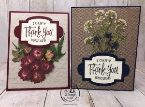 Pressed Petals Specialty Paper Thank You Cards