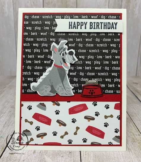 The Pampered Pets Bundle is part of the Playful Pets Suite of Products from Stampin' Up! This collection of products is sure to delight the dog or cat lover in your life regardless of their age they will love the cards and projects you can create with this bundle of products. See my blog post here for details: https://wp.me/p59VWq-boD. #stampinup #playfulpets #pamperedpets #thestampcamp