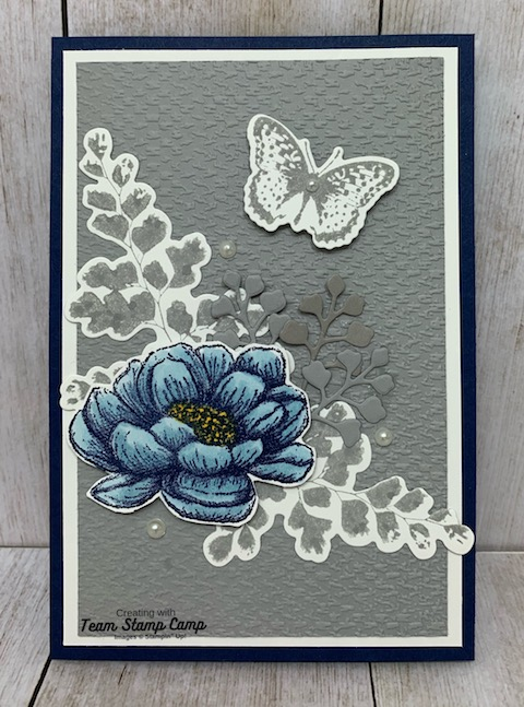 A beautiful gift for a beautiful friend - Who wouldn't love to receive this beautiful card and sticky note easel pad holder. The perfect gift for a teacher to place on her desk or maybe give as a birthday gift. Details are on my blog here: https://wp.me/p59VWq-bpM. #stampinup #thestampcamp #glendasblog #easelcard