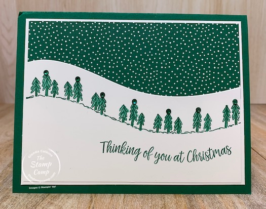 This is Bonus Card #1 for my Featured Stamp Set/Bundles for November 2020. This features the Curvy Christmas stamp set and Curvy Dies. Details are on my blog here: https://wp.me/p59VWq-bA2. #stampinup #thestampcamp #quitecurvybundle