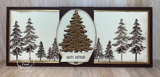 My Customer Appreciation PDF file for November 2020 is the In The Pines Bundle and this month's cards were created by Sara. She did an awesome job and all the cards have a bit of a tip or technique to them and all masculine. More details can be found on my blog here: https://wp.me/p59VWq-bzi. #stampinup #thestampcamp #masculine