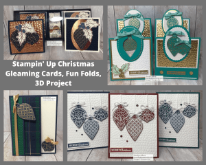 Christmas Gleaming bundle from Stampin' Up! makes the perfect Christmas Cards for this holiday season. You can get this PDF file for free with a min. Stampin' Up! purchase. #thestampcamp #stampinup #christmasgleaming