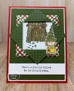 Fun Fold Friday - Gnome for the Holidays!