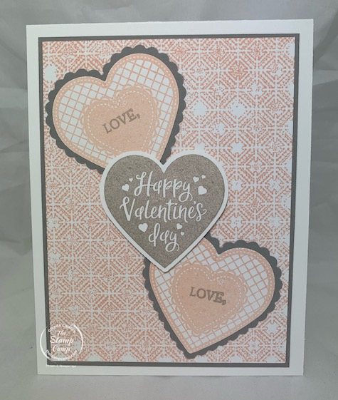 Did you know that you can stamp with embossing folders? Well you can and I'm going to show you how it is done. #stampinup #thestampcamp #embossingfolders #technique