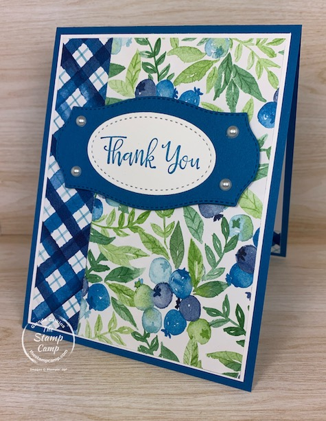 Berry Delightful Designer Series Paper is another FREE paper pack you can choose when you place a min. $100.00 Stampin' Up! online order. You will also receive the Berry Blessings Stamp Set for FREE! Hurry this offer ends SOON! February 28, 2021 is the LAST day!#thestampcamp #stampinup #saleabration #berry