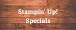 Stampin' Up! Specials Check them out! #stampinup #thestampcamp #stampinspecials