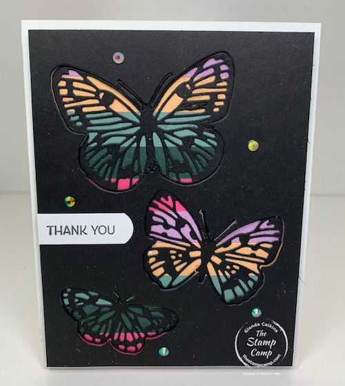Stampin Up Butterfly Brilliance & Brilliant Wings Stampin up