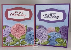 Let The Beauty of the Hydrangea Hill Designer Series Paper Shine