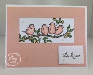 Simple Saturday Stampin' Up! Free As A Bird Stamp Set