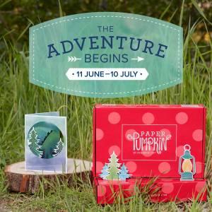 The Adventure Begins July Paper Pumpkin Kit Stampin' Up!