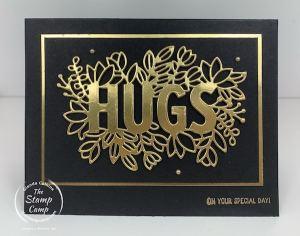 Black & Gold So Elegant with Sending Hugs Bundle 2021