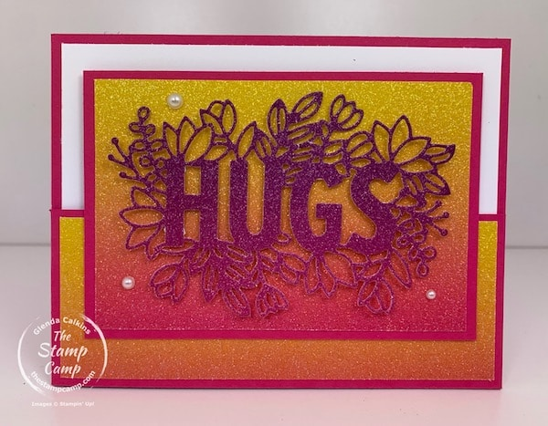 Stampin' Up! Rainbow Glimmer Paper 2021 with Sending Hugs Bundle