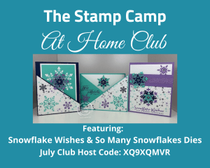 snowflake wishes stamp set
