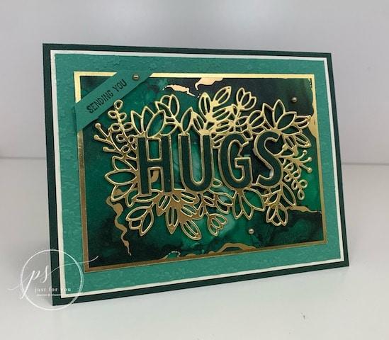 Sending hugs Bundle, Expressions in ink designer paper