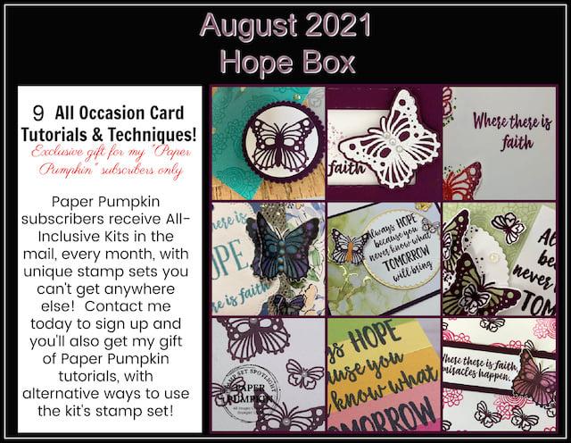 Paper Pumpkin card kit