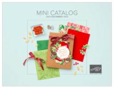 Stampin' Up! Mini Catalog July December 2021