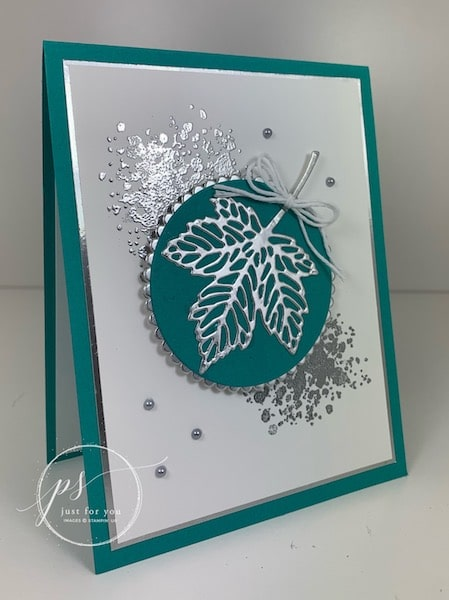 stampin up gorgeous leaves bundle