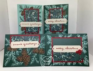 Wow, Beautiful Christmas To Remember Bundle One Sheet Wonder Cards