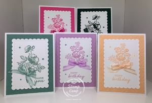 Shaded Summer Stamp Set Stampin' Up In Colors 2021