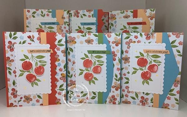 Sweet As A Peach Cards Bundle