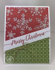 Using Embossing Paste To Add Texture To Designer Paper