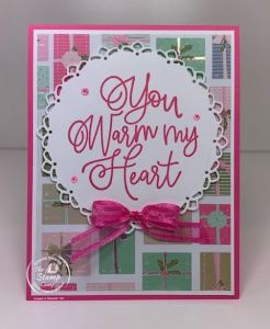 Stampin' Up! Encircled in Warmth With Encircled In Beauty Dies