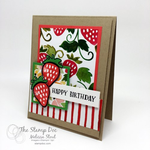 Fresh Fruit Stamp Set