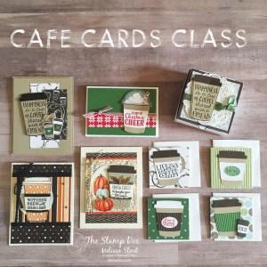 Cafe Cards Class