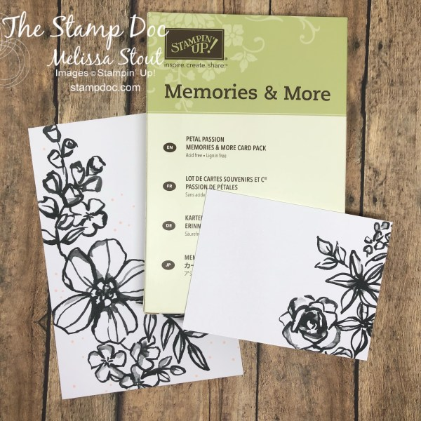 Petal Passion Memories & More Blank Cards
