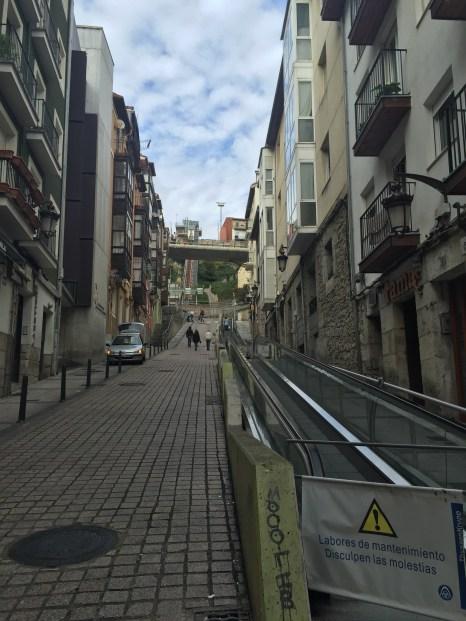 Walk up to the Funicular del Río de la Pila