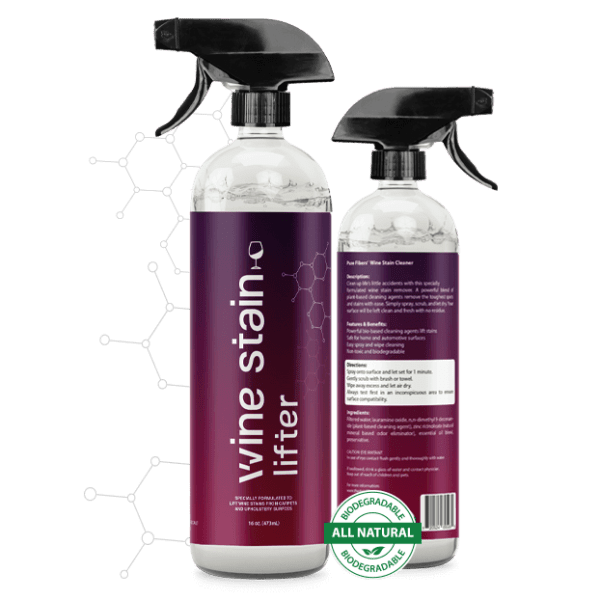 Stain Lifter 2 Wine stain bottles