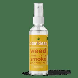 Stankless travel size bottle lemon orange scent