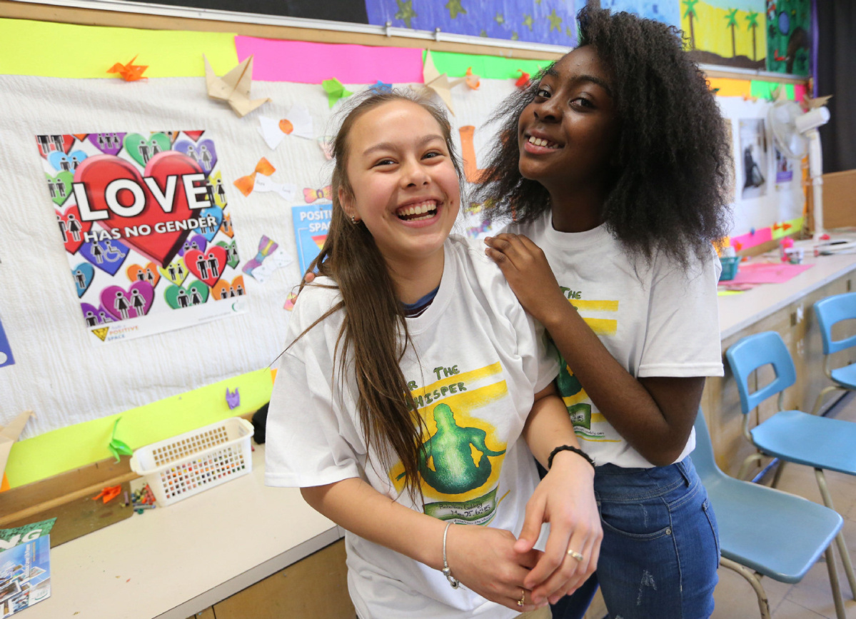 Middle School Class Inspired To Tackle Mental Health