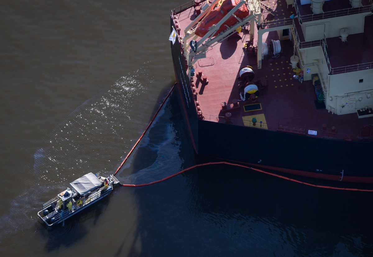 Ship Involved In Vancouver Oil Spill Was On First Voyage