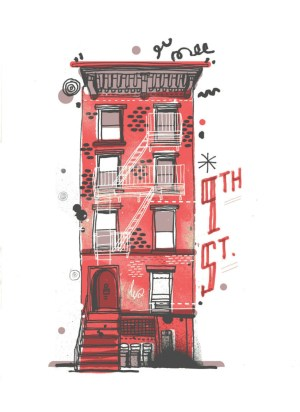 york buildings draw illustrator building sketch james gulliver hancock ny drawing drawings them simple attempts every brownstone watercolor toronto thestar