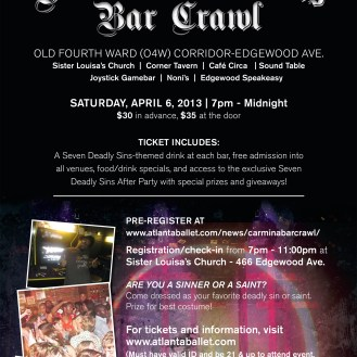 Seven Deadly Sins Party Invite