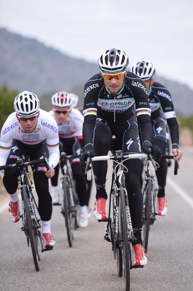 Cycling: Team OPQS 2014