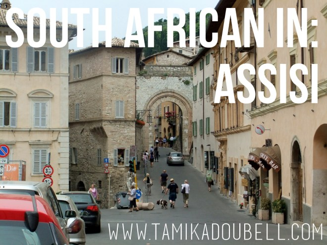 South African In: Assisi