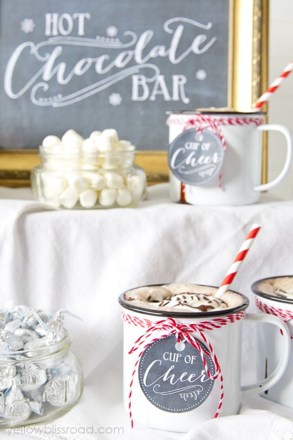 Entertaining Guests Drinks Ideas Hot Chocolate
