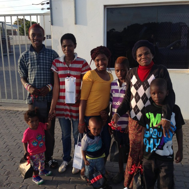 Feed a Family In South Africa