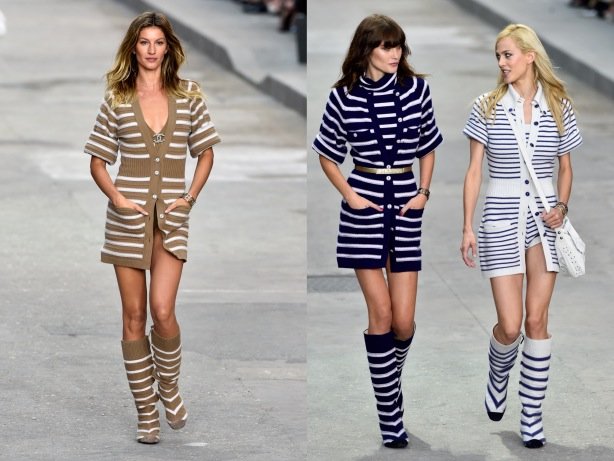 Monochrome Fashion Trend SS15 Chanel