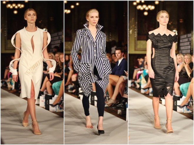 Asymmetric Fashion Trend, Lenie Boya SS15, London Fashion Week