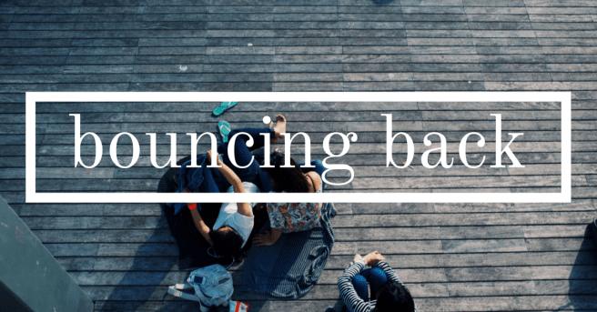 bouncing back while building a brand